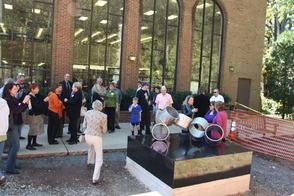 "Art Advisory Unveils Lenny Shapiro's ""Rotare"" Sculpture at the Millburn Public Library, photo 5"