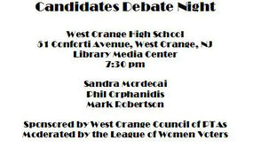 Candidates Night at West Orange High School on Oct. 28, photo 1