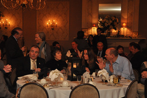 Close to 200 guests attended the fundraiser.