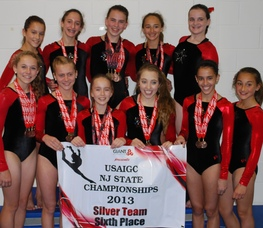 Silver Team 6th in State