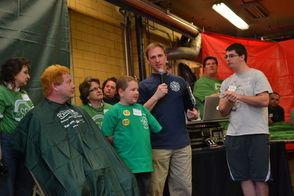 Matt Introduced At St. Baldrick's
