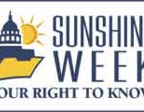 It's Sunshine Week, Understand your Right to Know Photo