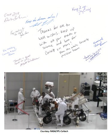Livingston, We've Had a Message - When Kids Get Involved in a NASA Mission