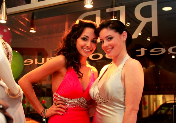 Celebrities Champagne And Sales Mark First Millburn Girls