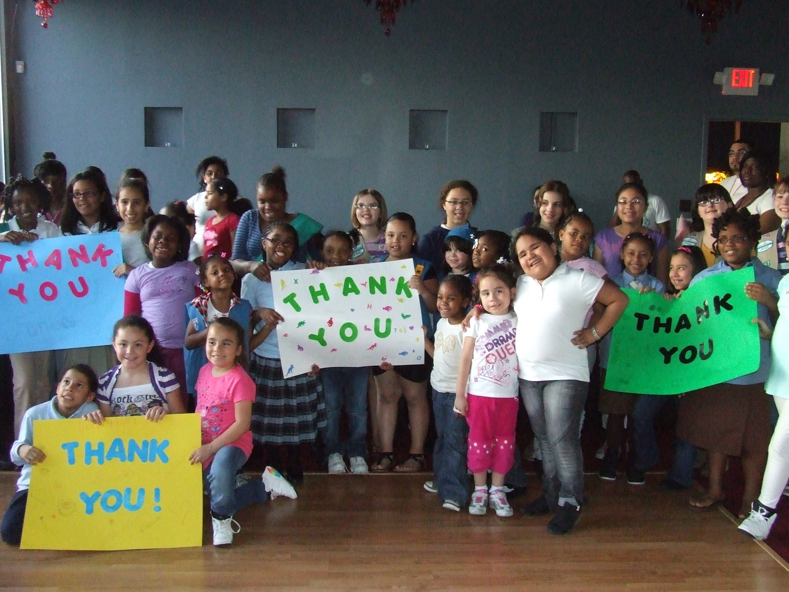 Paterson Girl Scouts Receive Book Donations
