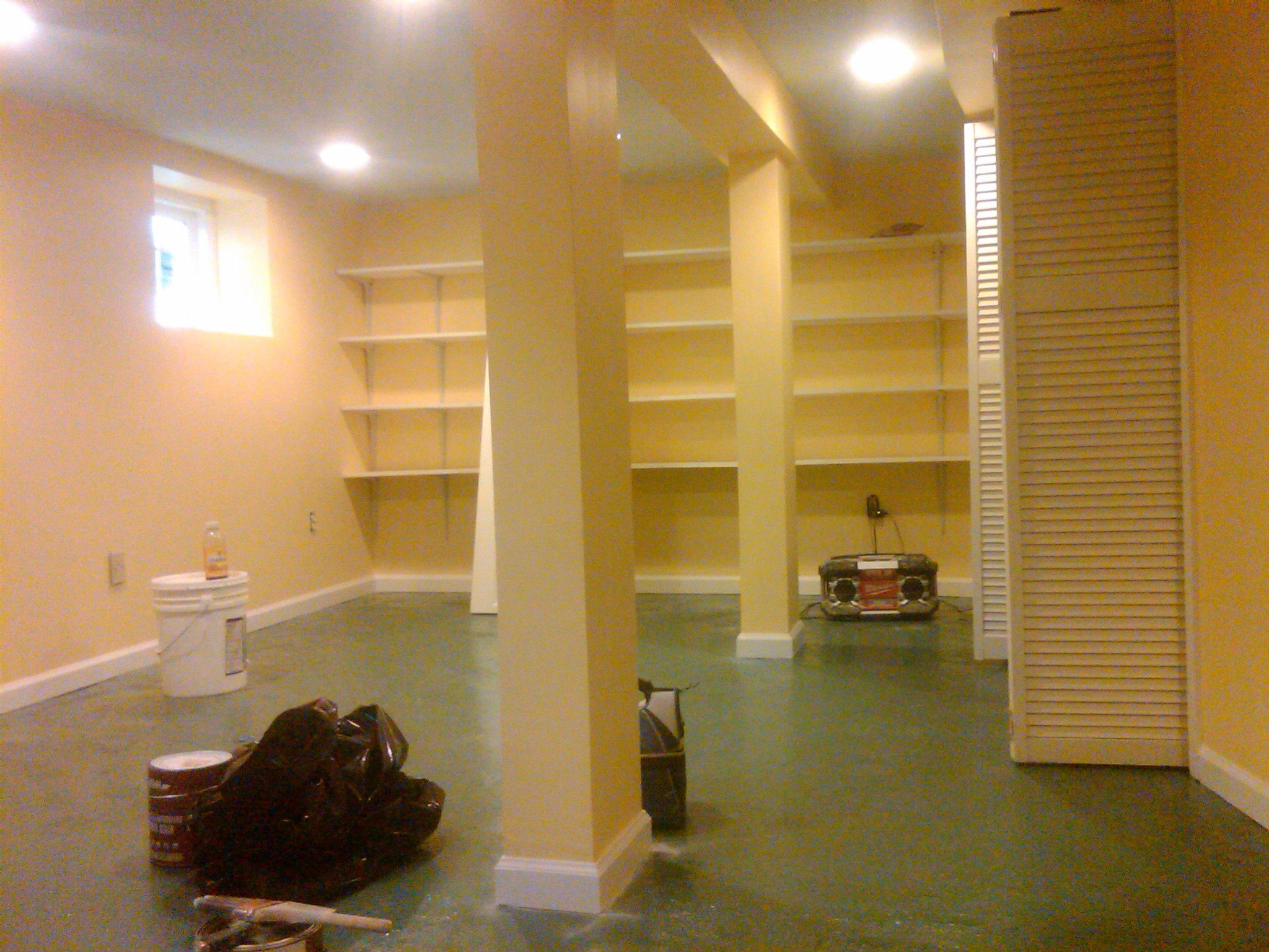 Painting Basement Walls Home Design Ideas