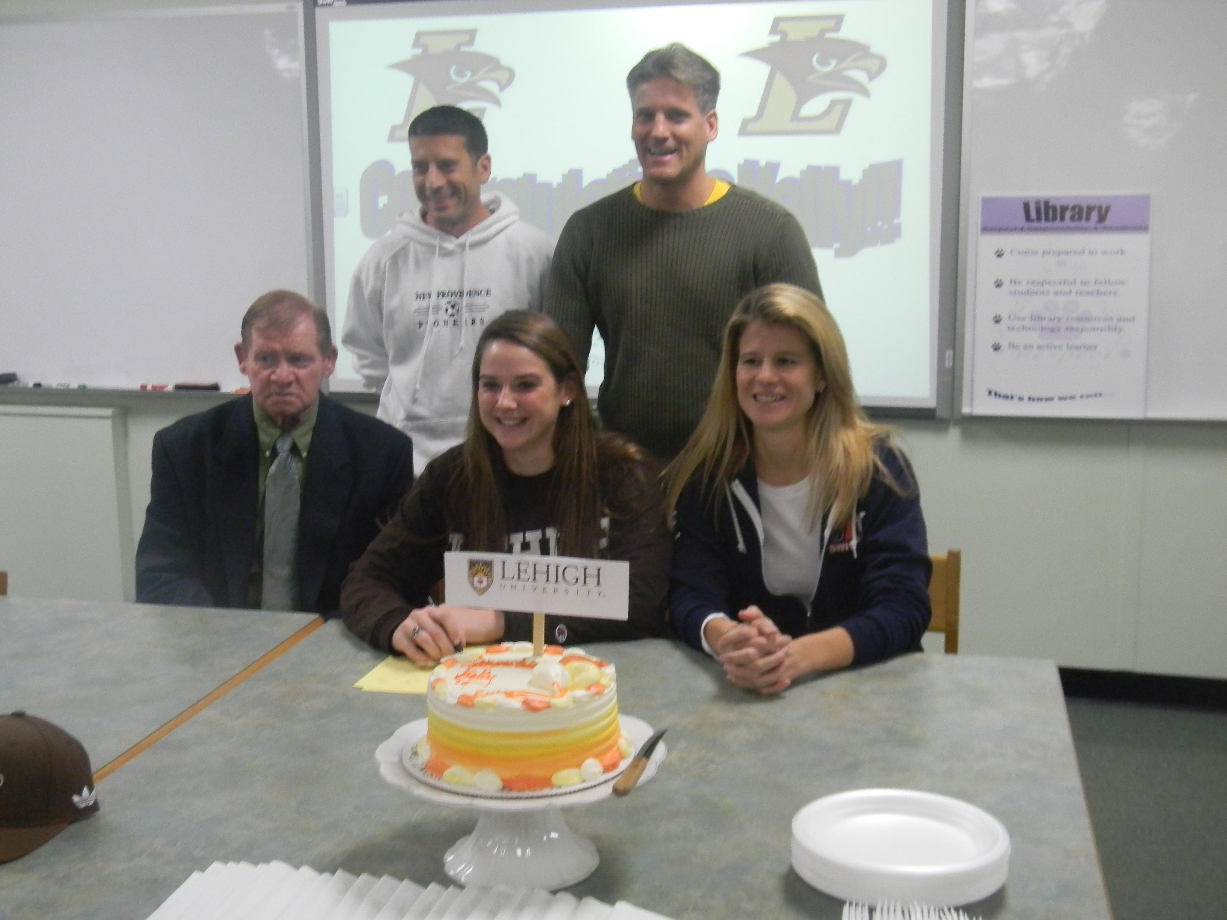 New Providence High School Senior Kelly Carroll Signs ...