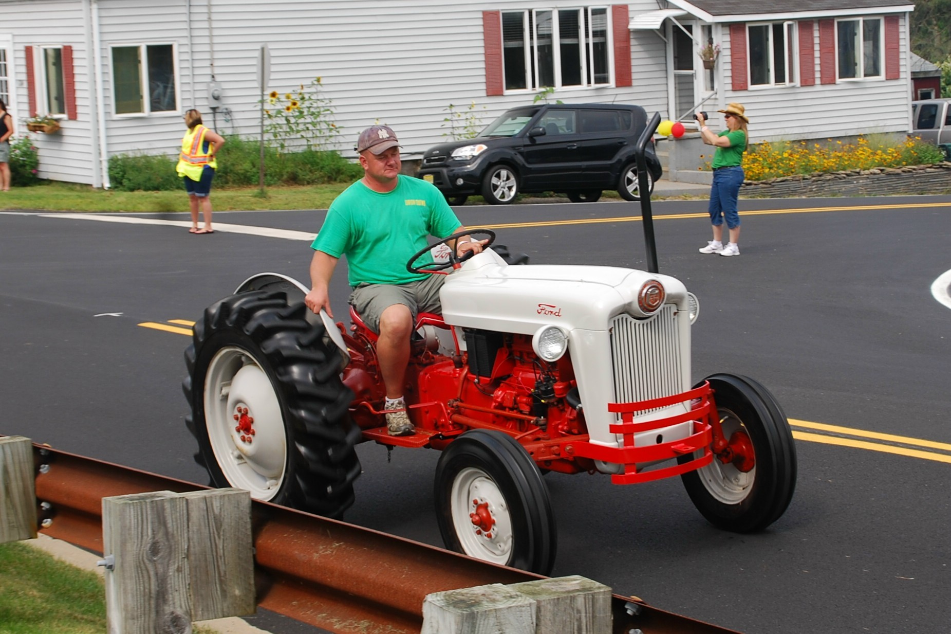 Tractor Parade Seat : Sandyston puts tractors on parade news tapinto