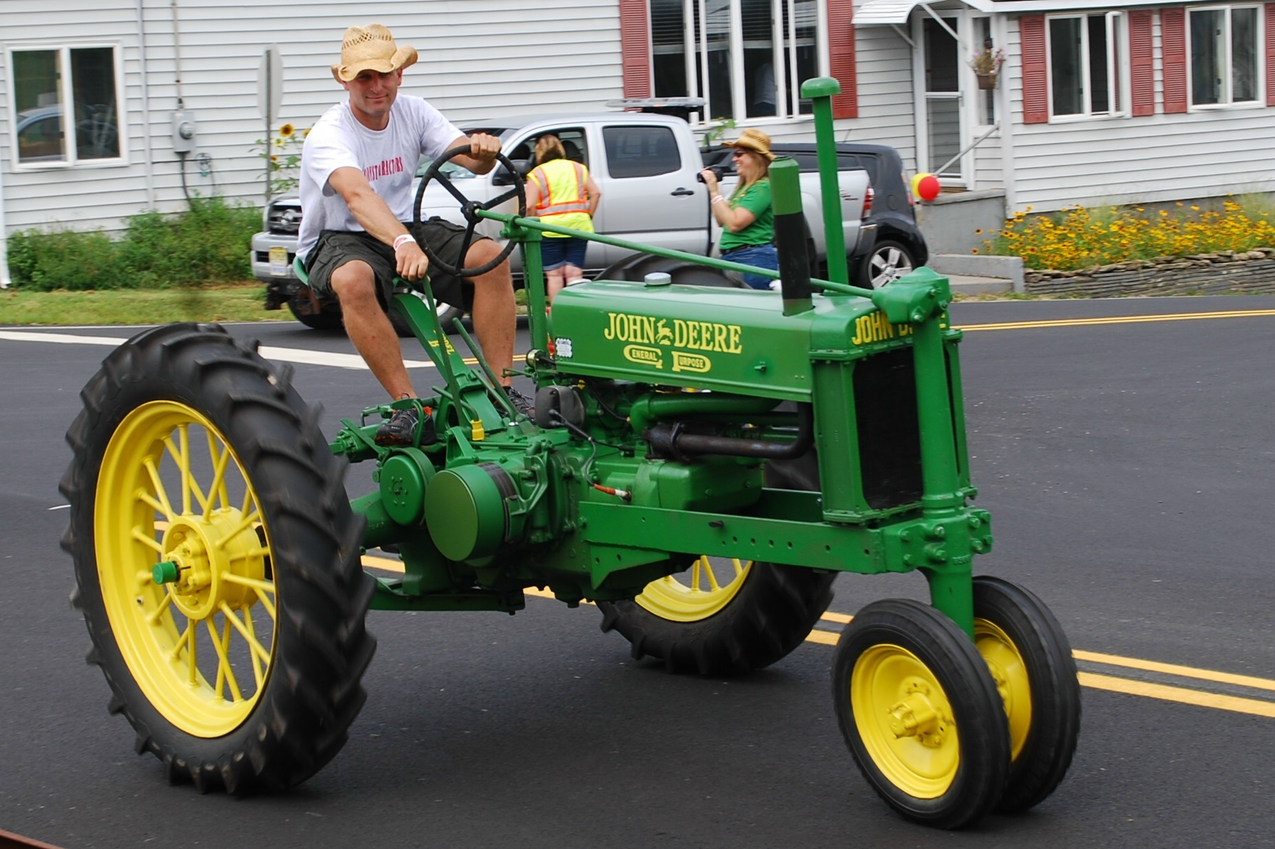 Tractor Parade Seat : Sandyston puts tractors on parade sussex nj news tapinto