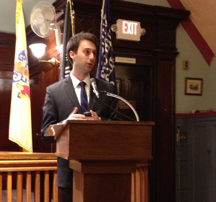 """Torpey Touts Technology in South Orange """"State of the Village"""" Address"""