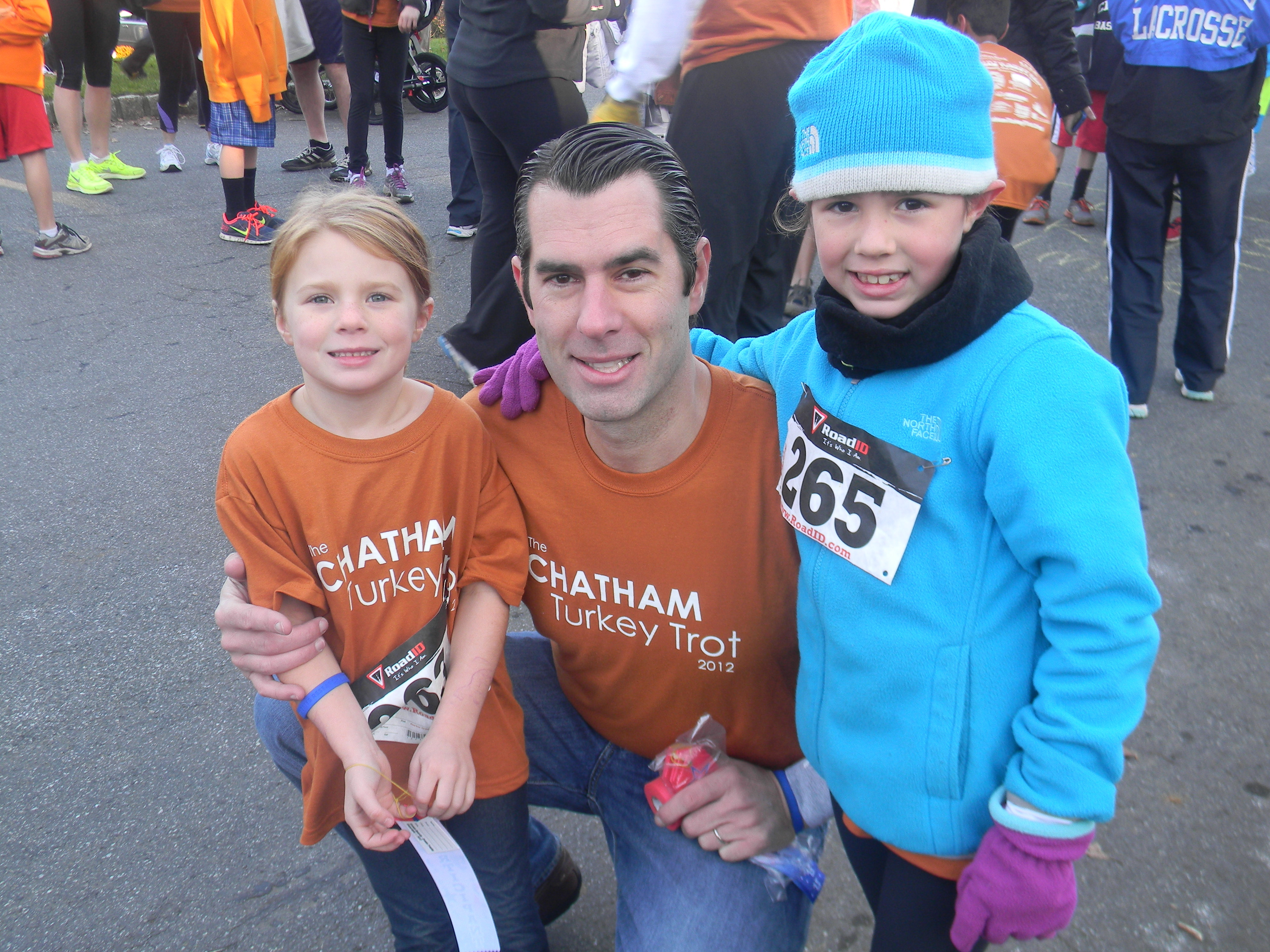 Residents Run in the Fourth Annual Thanksgiving Day Chatham Turkey Trot