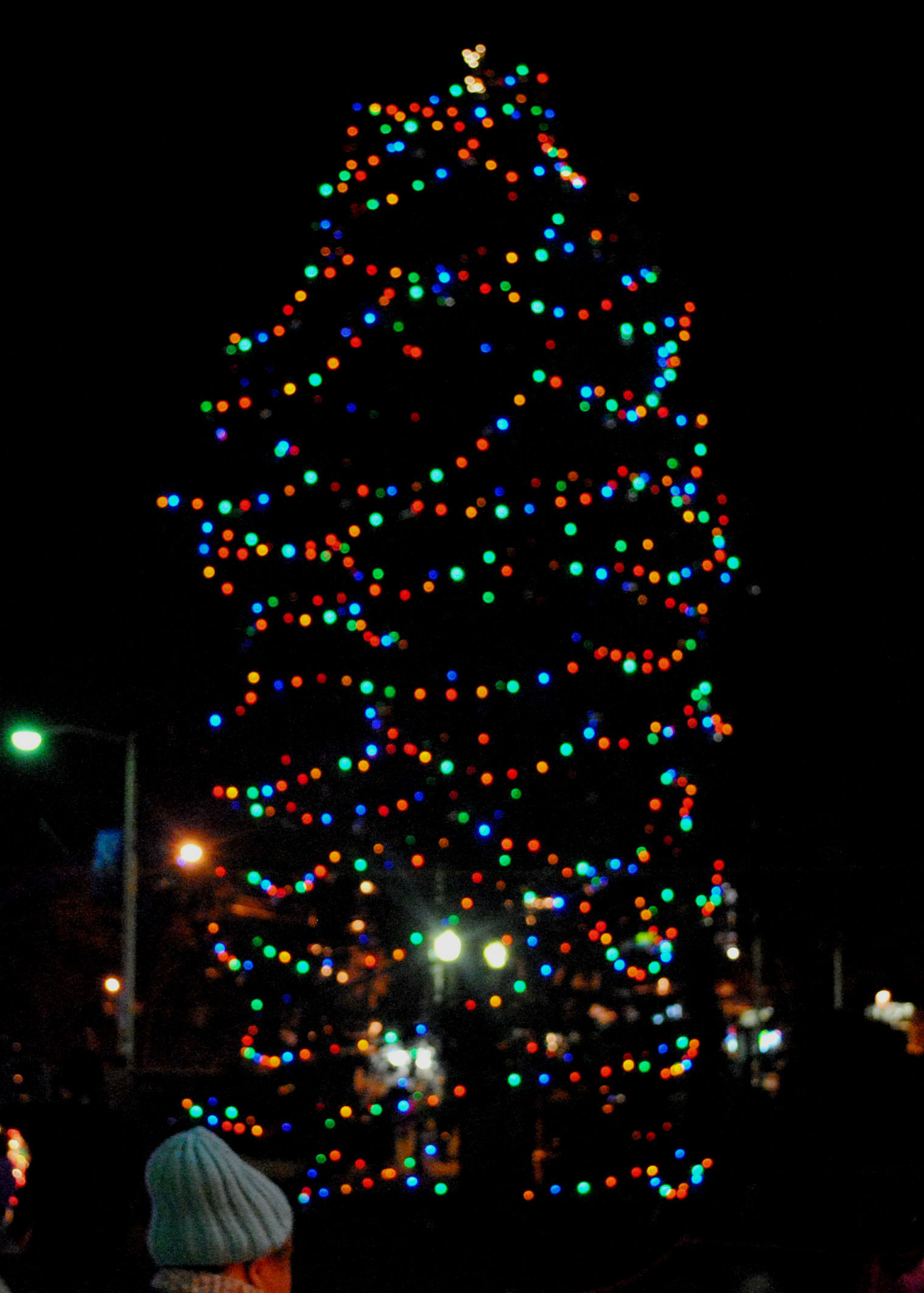 west orange old fashioned christmas tree lighting and events brighten community - Old Fashioned Christmas Tree Lights