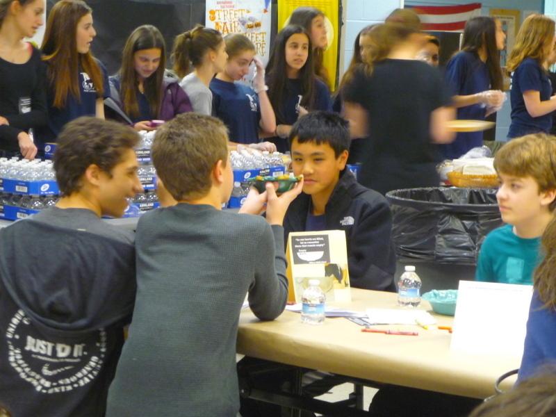 Empty Bowls Fundraiser at Millburn Middle School Draws Record Crowd