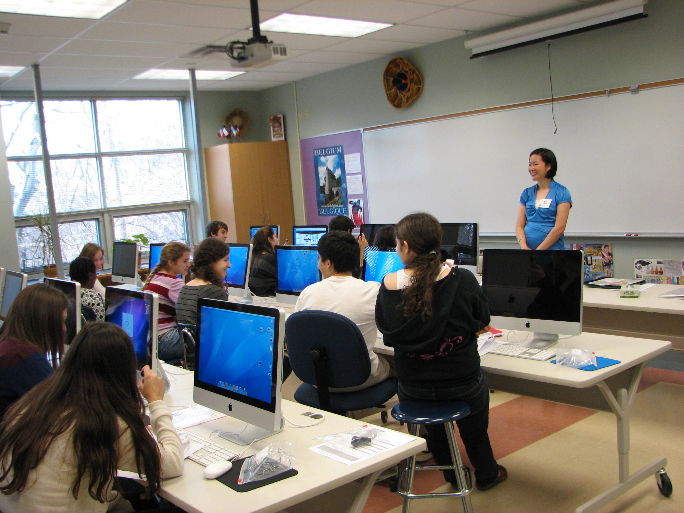 Millburn high school recently expanded its world languages program credits nancy dries
