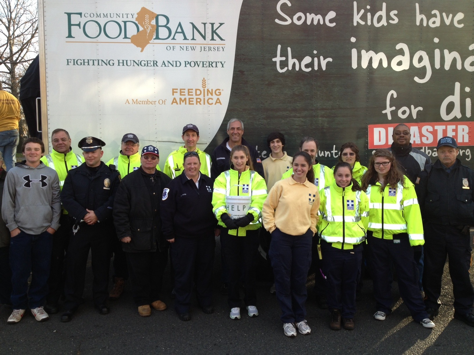 Summit Volunteer Rescue Squad Helps Other Fellow First Foundation with Successful Turkey Drive