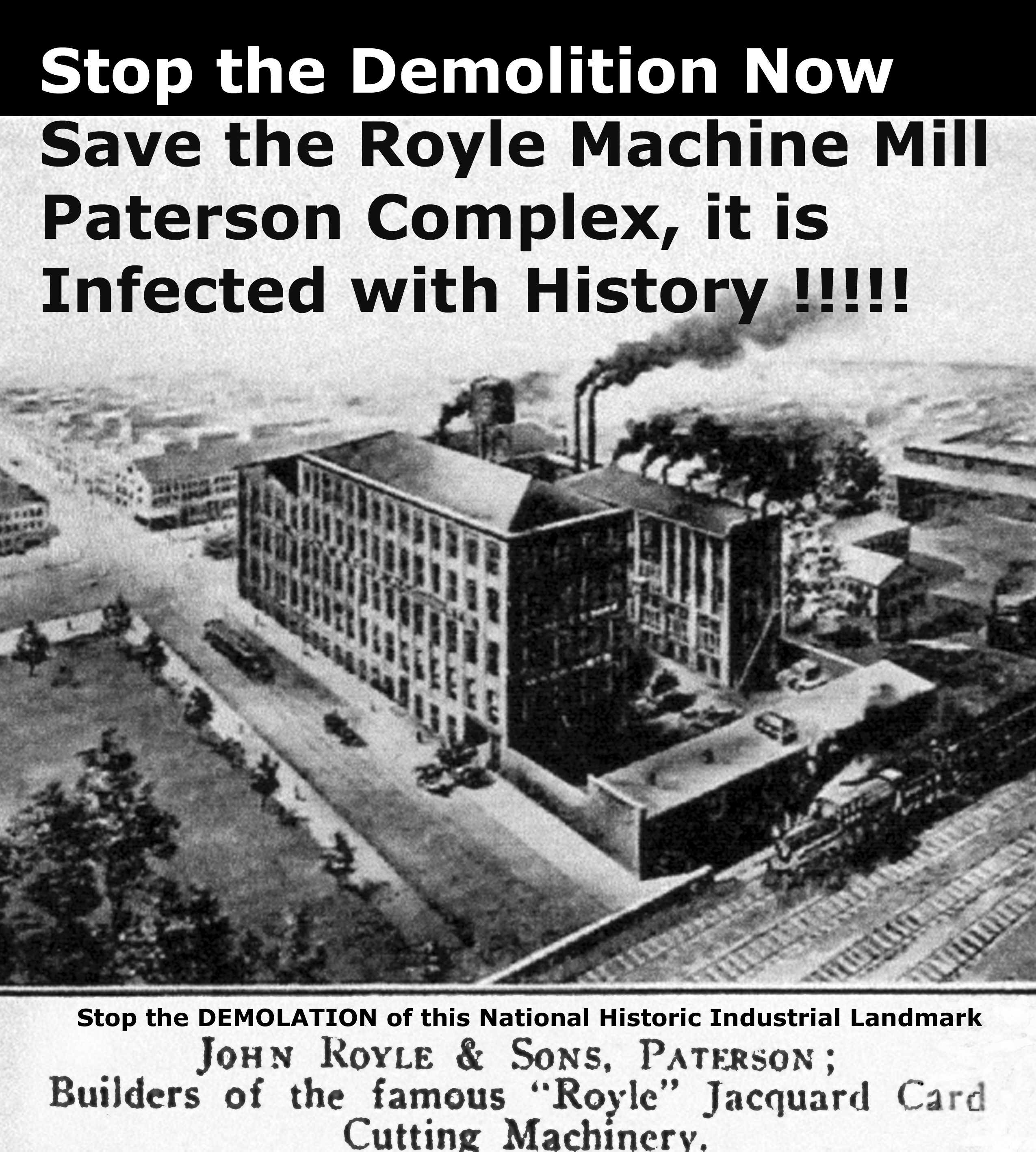 Save the Royle Mill!