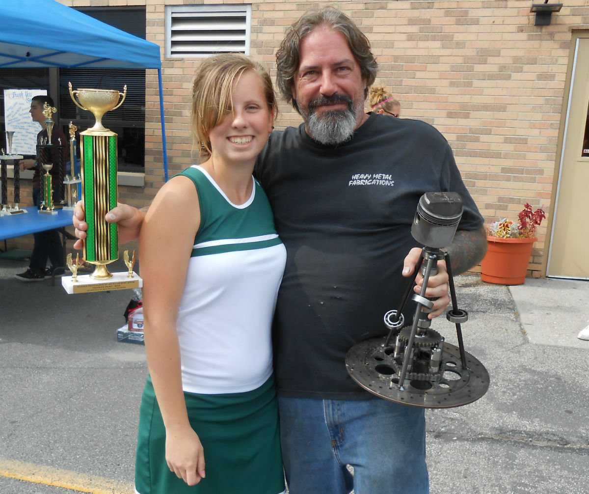 Classic Car Show Supports Sussex County Technical School Class Of - Homemade car show trophies