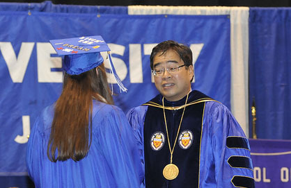 Seton Hall Class of 2012 to Take Center Stage at Monday's Commencement