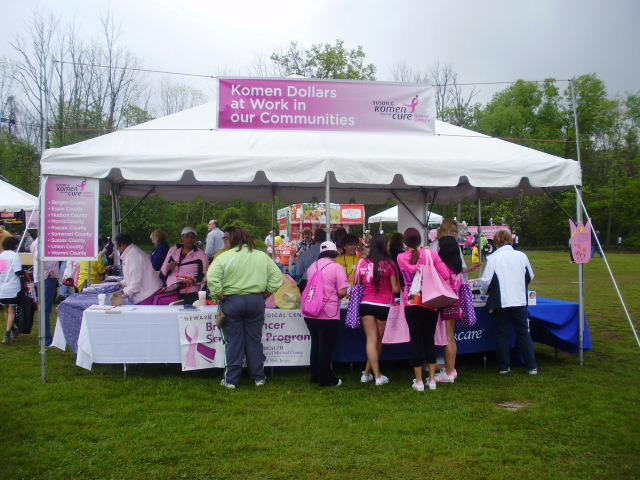 Breast Cancer Survivors, Supporters Participate in Susan G. Komen Race for the Cure