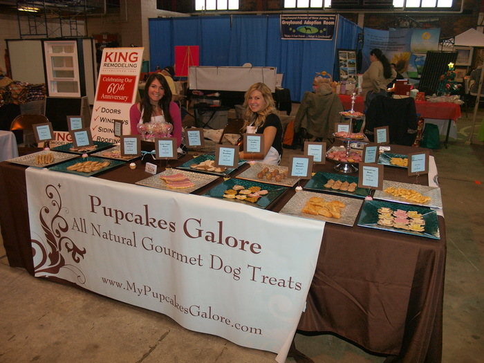 Dog Treat Display Craft Show