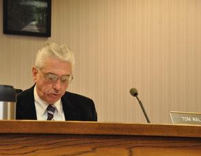 Andover's new mayor, Tom Walsh.