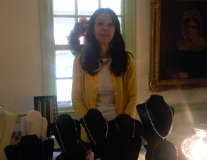 Lynne Taylor, the owner of Nola Rose Jewelry