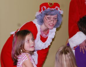 Chatting with Mrs. Santa