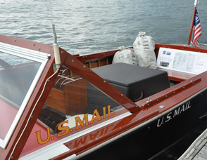 "The U.S. Mail Boat from ""On Golden Pond""."