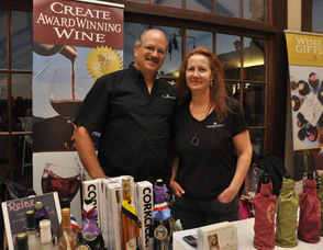 Dave and Tara Becker of Vintner's Circle.