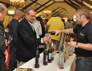 Rich Vogt of Cava Winery serves up wines infused with fruit.