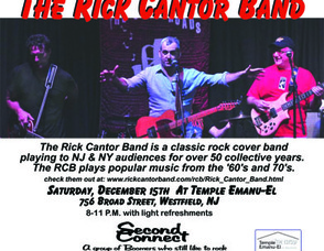 The Rick Cantor Band, photo 1