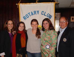 Maggie Doyne Visits Maplewood Rotaty Club