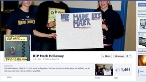 rip mark hollaway page