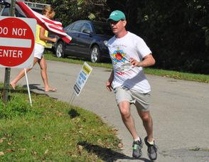 Tom Sweeney of Pasadena, Calif. participated in the 5K.