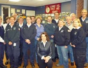 New Officers Take Helm of Summit Volunteer First Aid Squad, photo 1