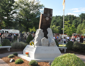 The Sussex County September 11th Memorial.