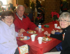 seniors attending the luncheon