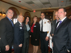 Chamber members at the breakfast
