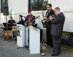 """Watson, led by """"Cadillac Phil"""" Rinaldi will entertain at Girls' Night Out in Downtown Westfield on October 18 from 5 pm to 9 pm"""