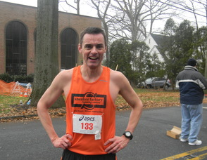 John Hogan, who finished second