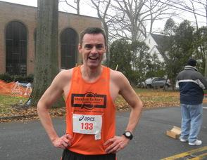 John Hogan, who finished second