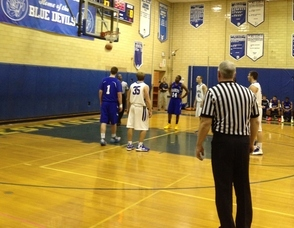 Westfield High School Boys Varsity Basketball Wins Over Scotch Plains Fanwood 52-31, photo 1