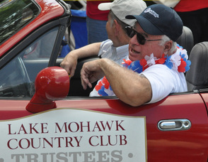 Lake Mohawk Country Club Trustees in the parade.