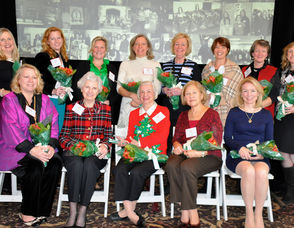 JLOSH Past Presidents at the luncheon to mark its centennial year.