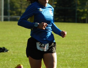 Karyn Layton from Rockaway, N.J., #239, who ranked fifth overall for the women.