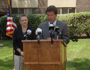 Assemblywoman Mila Jasey and Assemblyman John McKeon