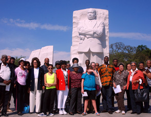 Local MLK Association Visits The Dr. King Monument in D.C.
