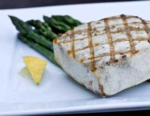 Swordfish & Asparagus are both easy to grill and are crowdpleasers