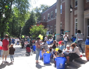 Last Year's Picnic at Town Hall Drew 300 Visitors