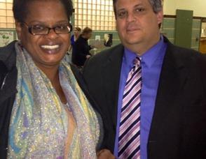 Debra Mapson and Ron Charles